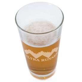 Ultra Trail Runner 20oz Beer Pint Glass