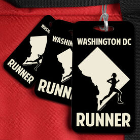 Bag/Luggage Tag District of Columbia State Runner Female