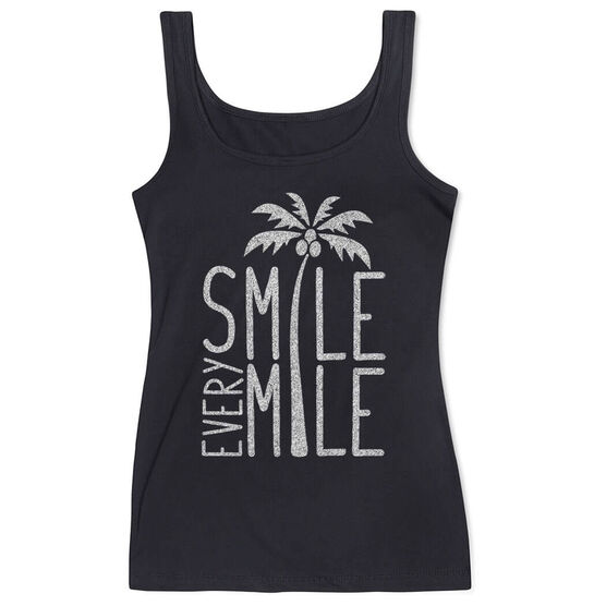 Women's Athletic Tank Top Smile Every Mile