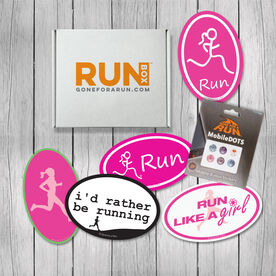 RUNBOX Gift Set - Magnets & Decals Oh My