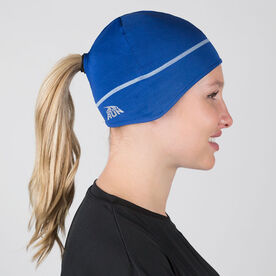 Pony Up Performance Beanie - Blue