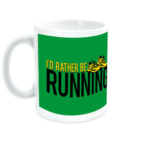 Running Ceramic Mug I'd Rather Be Running