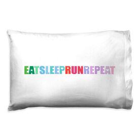 Running Pillowcase - Eat Sleep Run Repeat
