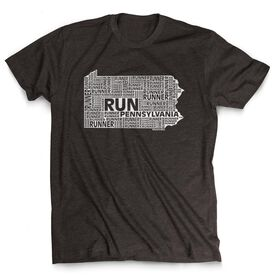 Men's Lifestyle Runners Tee Pennsylvania State Runner