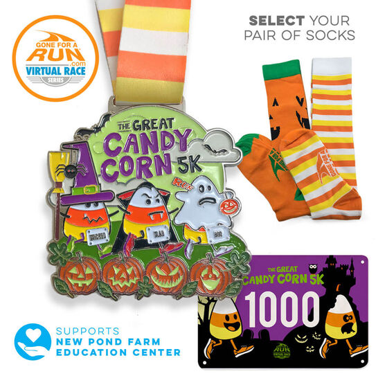 Virtual Race - The Great Candy Corn 5K