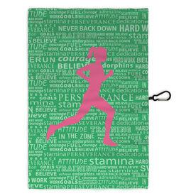 Running Workout/Golf Towel Inspiration Female