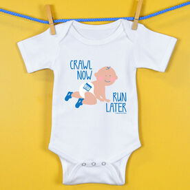 Baby One-Piece Crawl Now Run Later
