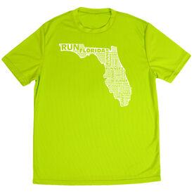 Men's Running Short Sleeve Tech Tee Florida State Runner