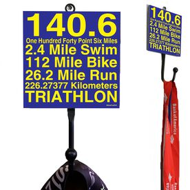 140.6 Math Miles Medal Hook