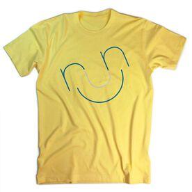 Running Short Sleeve T-Shirt - Run & Be Happy