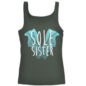 Women's Athletic Tank Top Sole Sister Love