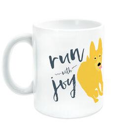 Running Ceramic Mug Run With Joy