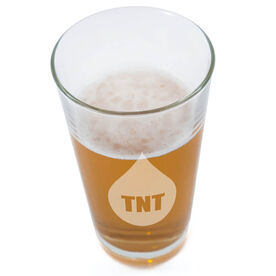 TNT Team in Training 20oz Beer Pint Glass