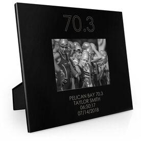 Triathlon Engraved Picture Frame - 70.3
