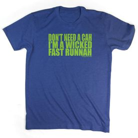 Men's Lifestyle Runners Tee Wicked Fast Runnah