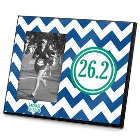Running Photo Frame Zig Zag 26.2