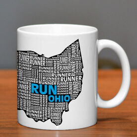 Running Ceramic Mug Ohio State Runner