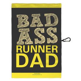 Running Workout/Golf Towel Bad Ass Runner Dad