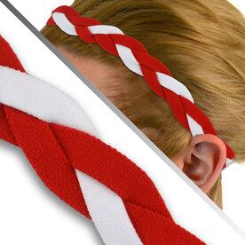 GripBand Headband - Red/White