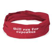 RokBAND Multi-Functional Headband - Will Run For Cupcakes