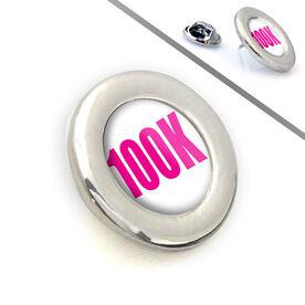 Running Lapel Pin 100K