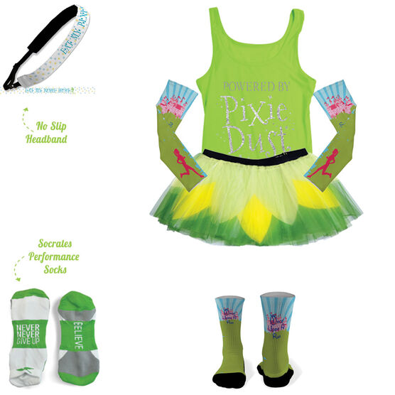 Powered By Pixie Dust Running Outfit