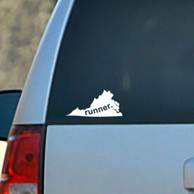 Virginia State Vinyl RUNNERDecal