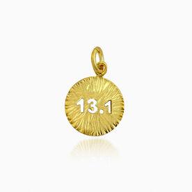 Livia Collection 14K Gold Vermeil Sunburst 13.1 Charm
