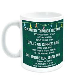 Running Ceramic Mug Jingle Run with Bells
