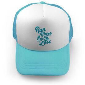 Running Trucker Hat Run More Suck Less