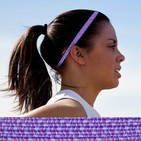 Bunji BAND Elastic Headbands for Athletes - Wisteria