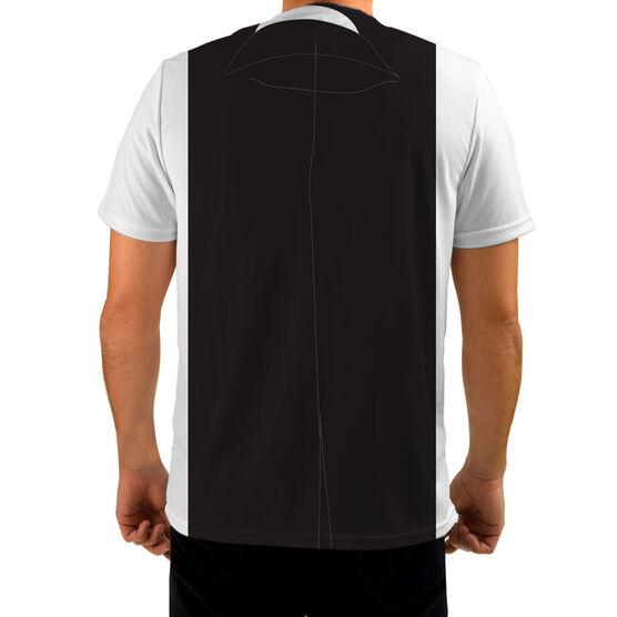 Men's Running Customized Short Sleeve Tech Tee Tux