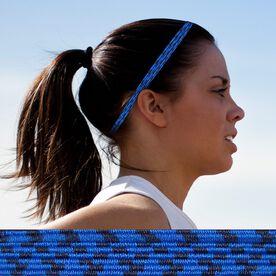 Bunji BAND Elastic Headbands for Athletes - Delphinium