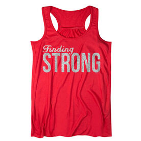 Flowy Racerback Tank Top - Finding Strong