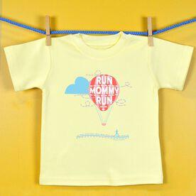 Baby T-shirt Run Mommy Run Hot Air Balloon