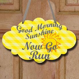 Good Morning Sunshine Decorative Cloud Sign