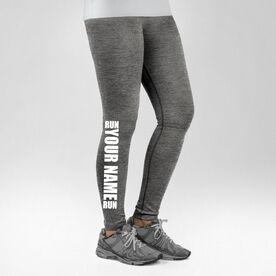 Running Performance Tights Run Your Name Run