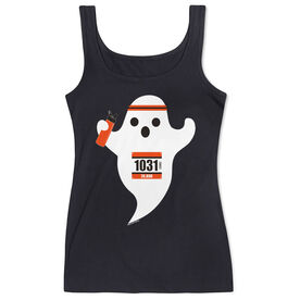 Women's Athletic Tank Top Faster Than Boo