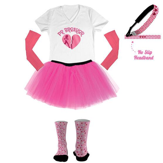 PR Breaker Valentine's Running Outfit