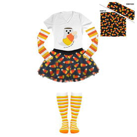 Will Run For Candy Corn Running Outfit