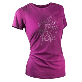 Women's Everyday Runners Tee - Spread Cheer Give Joy Run