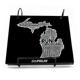 Michigan State Runner BibFOLIO