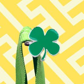 Race Hook Tag Four Leaf Clover