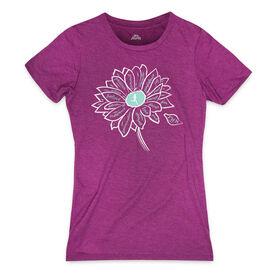 Women's Everyday Runner's Tee Inspiration Flower