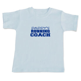 Daddy's Running Coach Baby T-shirt
