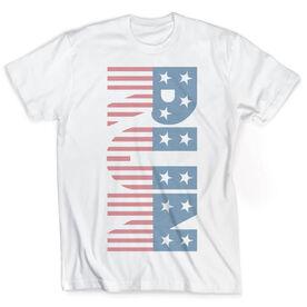Vintage Running T-Shirt - Run Patriotic