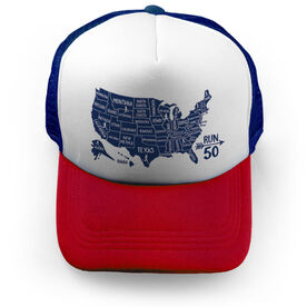 Running Trucker Hat - Run 50