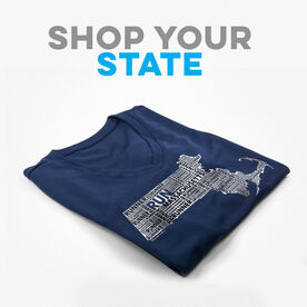 Click To Shop All State Specific Women's Short Sleeve Tech Tees