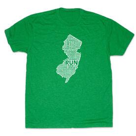 Men's Lifestyle Runners Tee New Jersey State Runner
