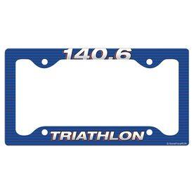 140.6 TRI License Plate Holder